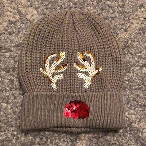 NWOT Reindeer winter hat. Never worn.